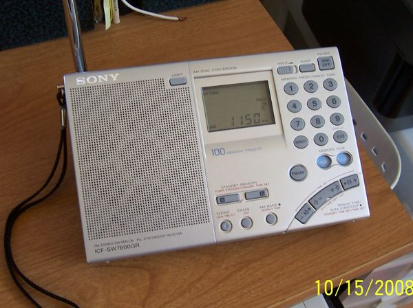 Herculodge Review Of The Sony Icf 7600gr Portable Radio