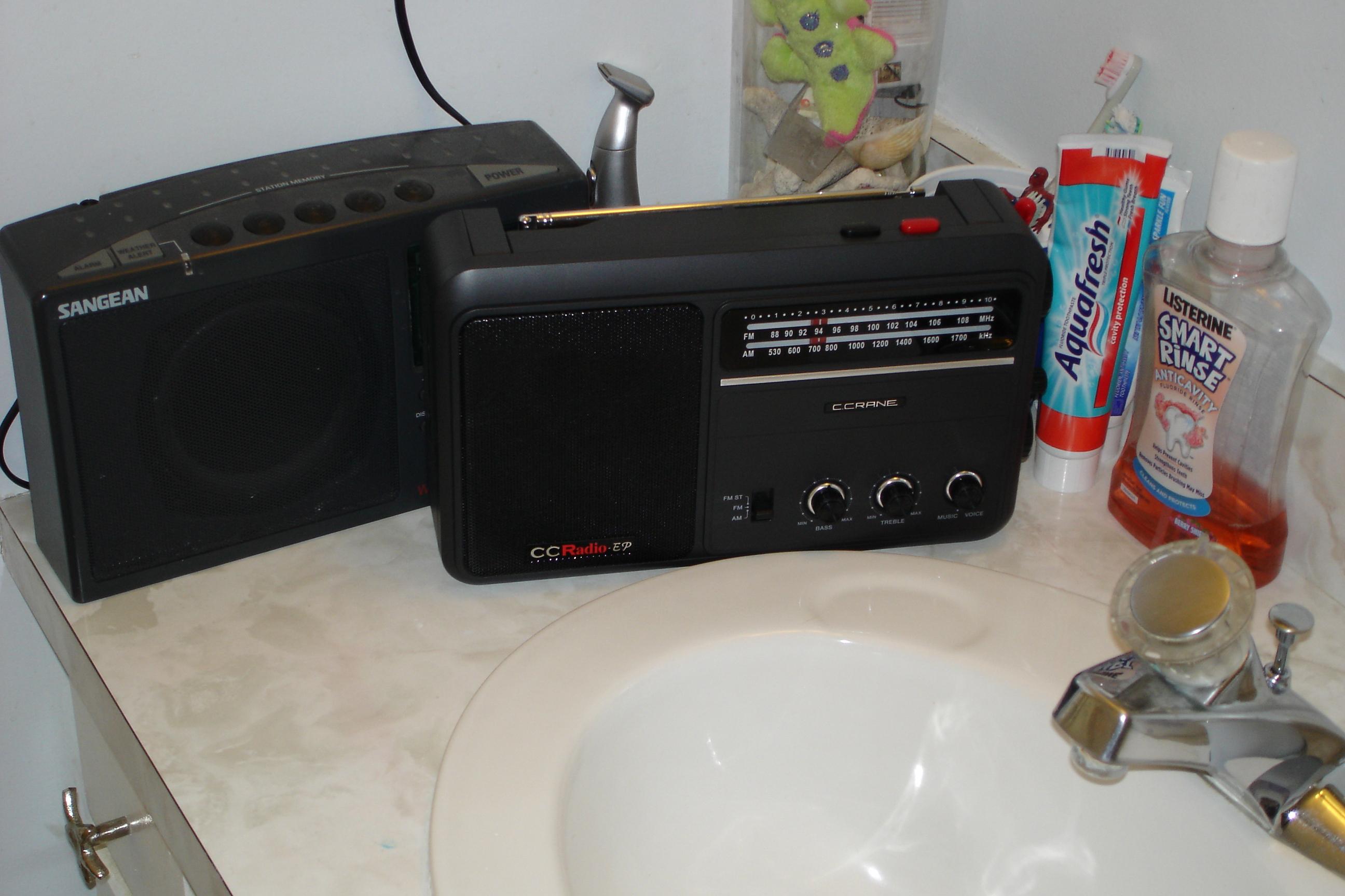 Herculodge The Importance Of A Good Bathroom Radio