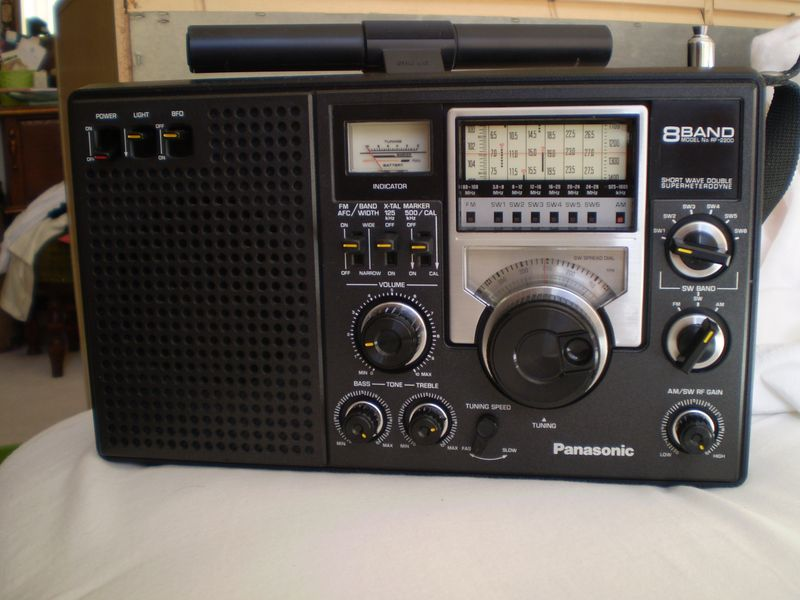 Herculodge: Randall Selling His Panasonic RF-2200 for $300 on panasonic portable multiband receiver, panasonic rf 5000, panasonic rf-4800,