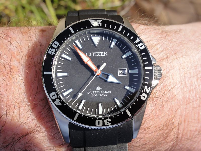 Citizen BN0100-00E Diver - DSC00522