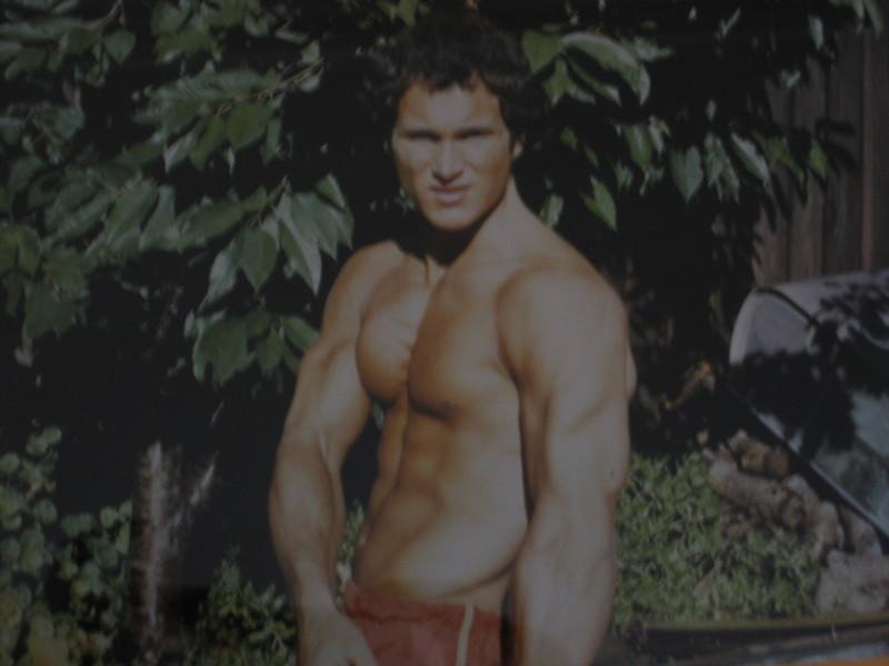19-Year-Old McMahon Bodybuilding Shot
