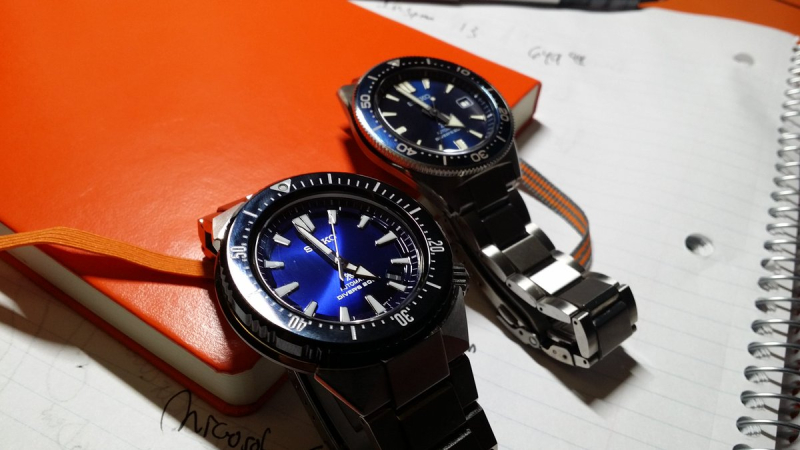 Seiko Blue Pair 2